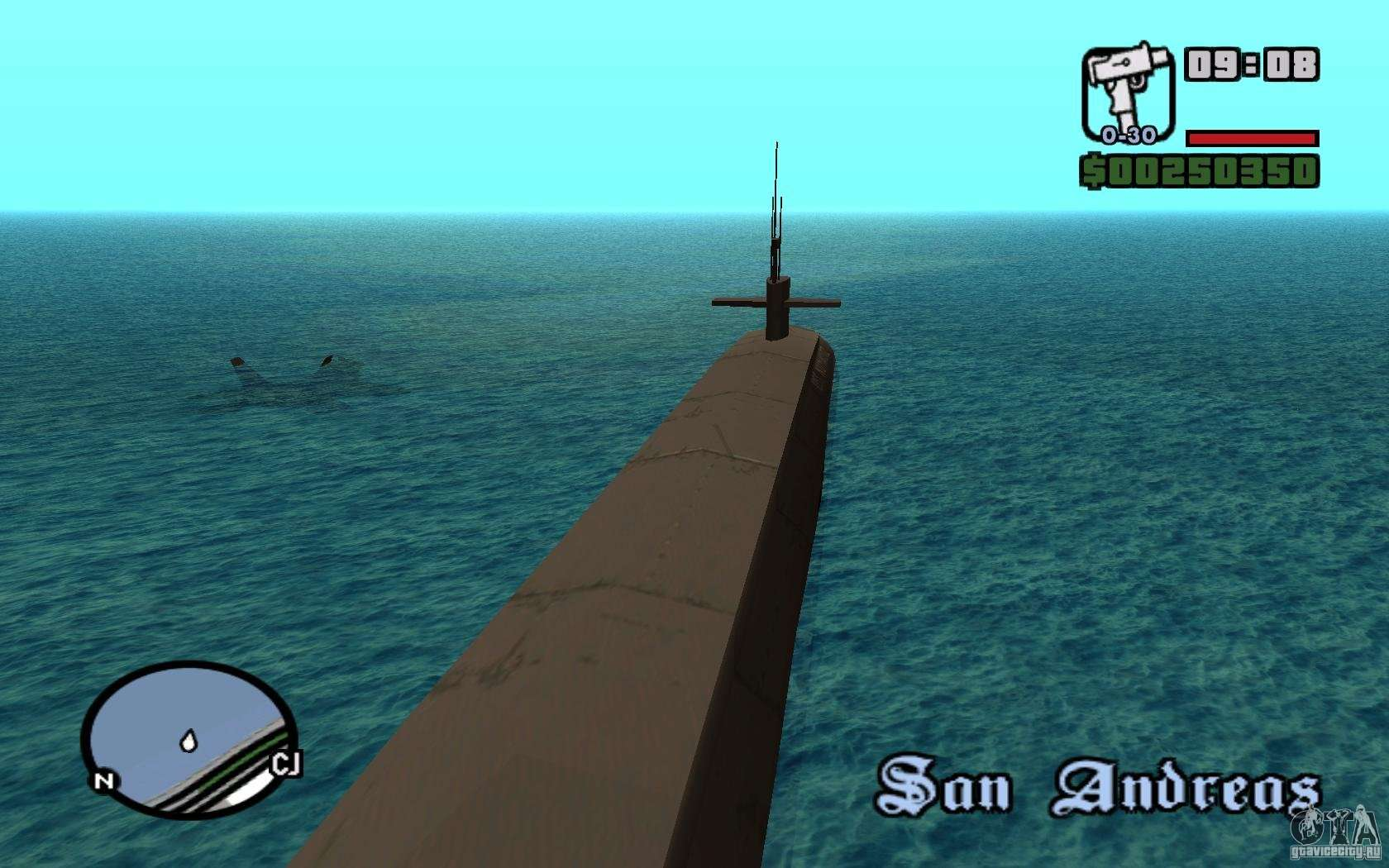 где стоит подводная лодка в гта 5
