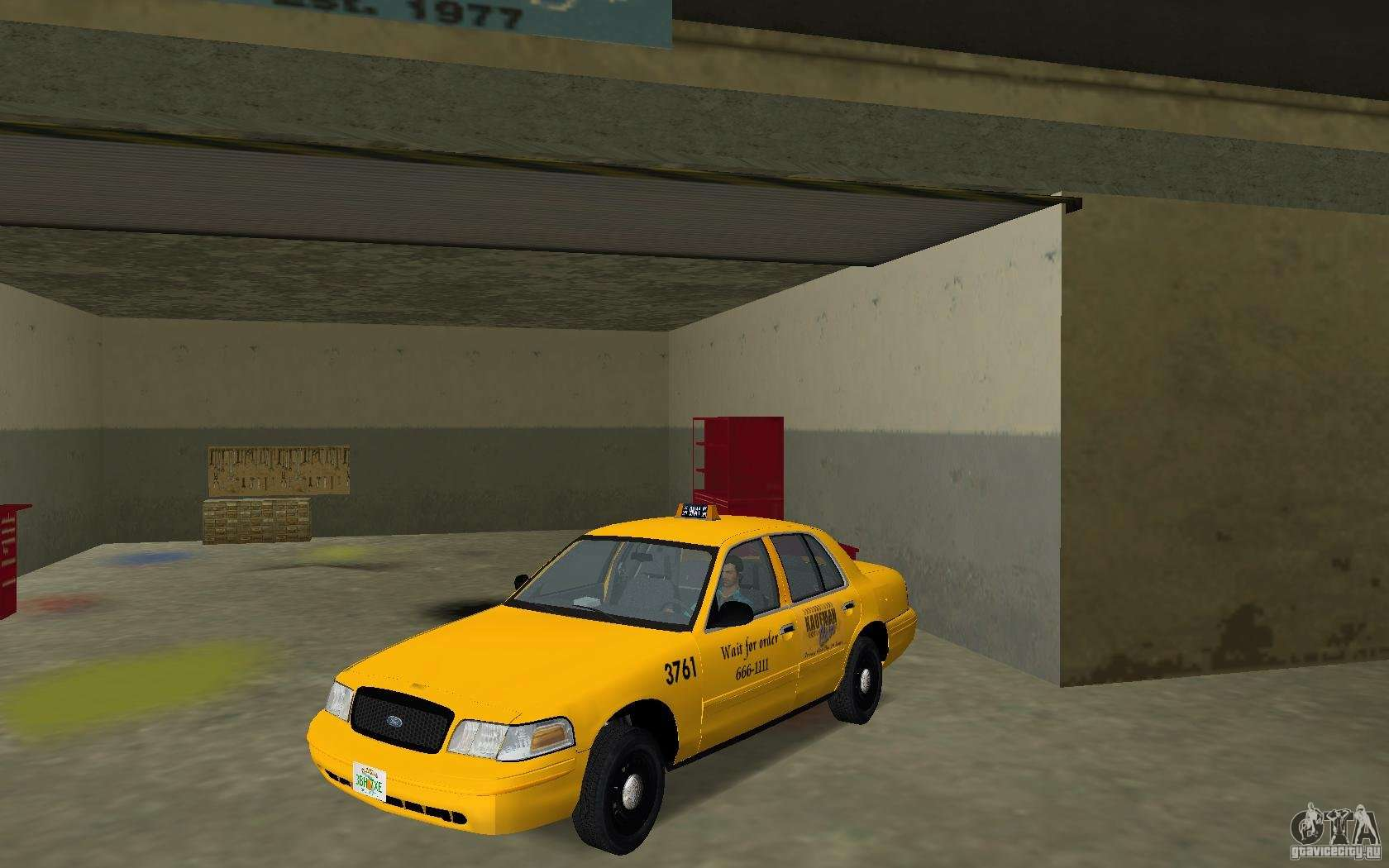 Ford Crown Victoria Ltd 1985 Taxi For Gta Vice City 1980