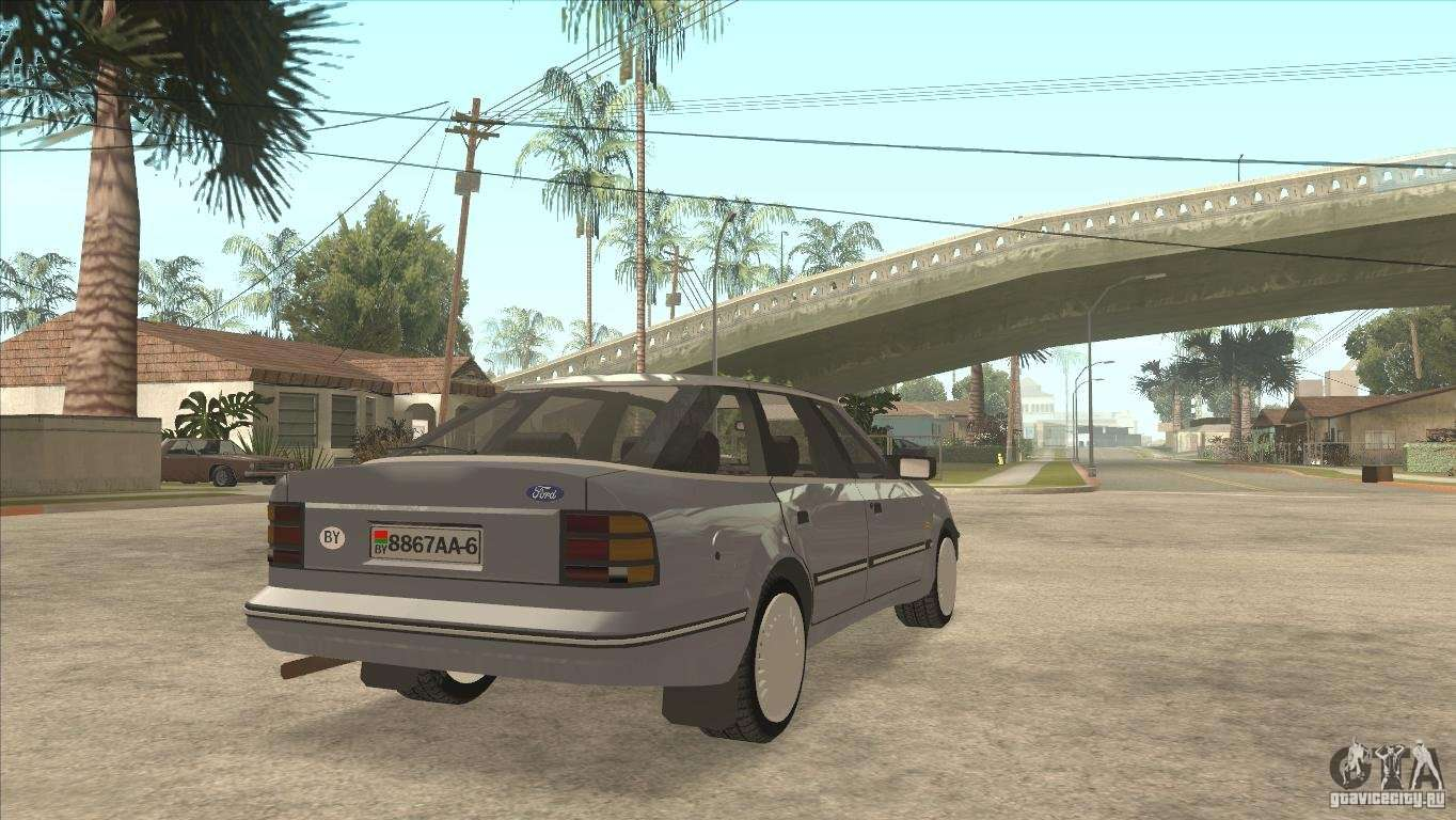 Ford Scorpio for GTA San Andreas left view & Ford Scorpio for GTA San Andreas markmcfarlin.com