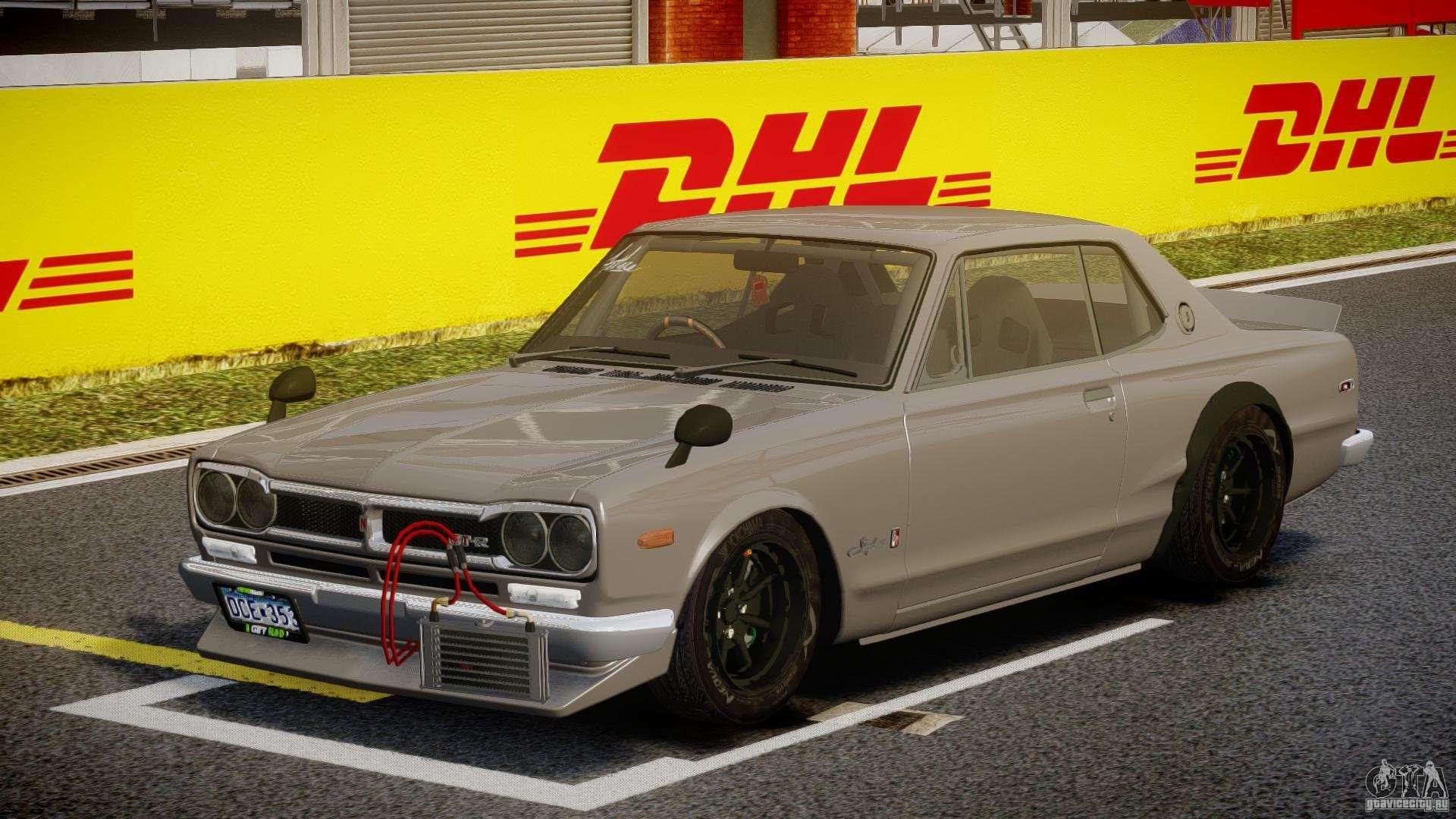 Nissan Skyline Hakosuka Kpgc10 Mountain Drift For Gta 4