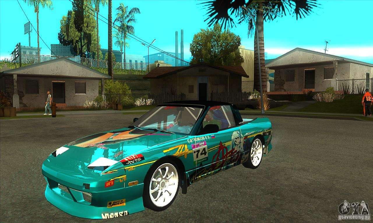 Nissan From Moscow Drift For Gta San Andreas
