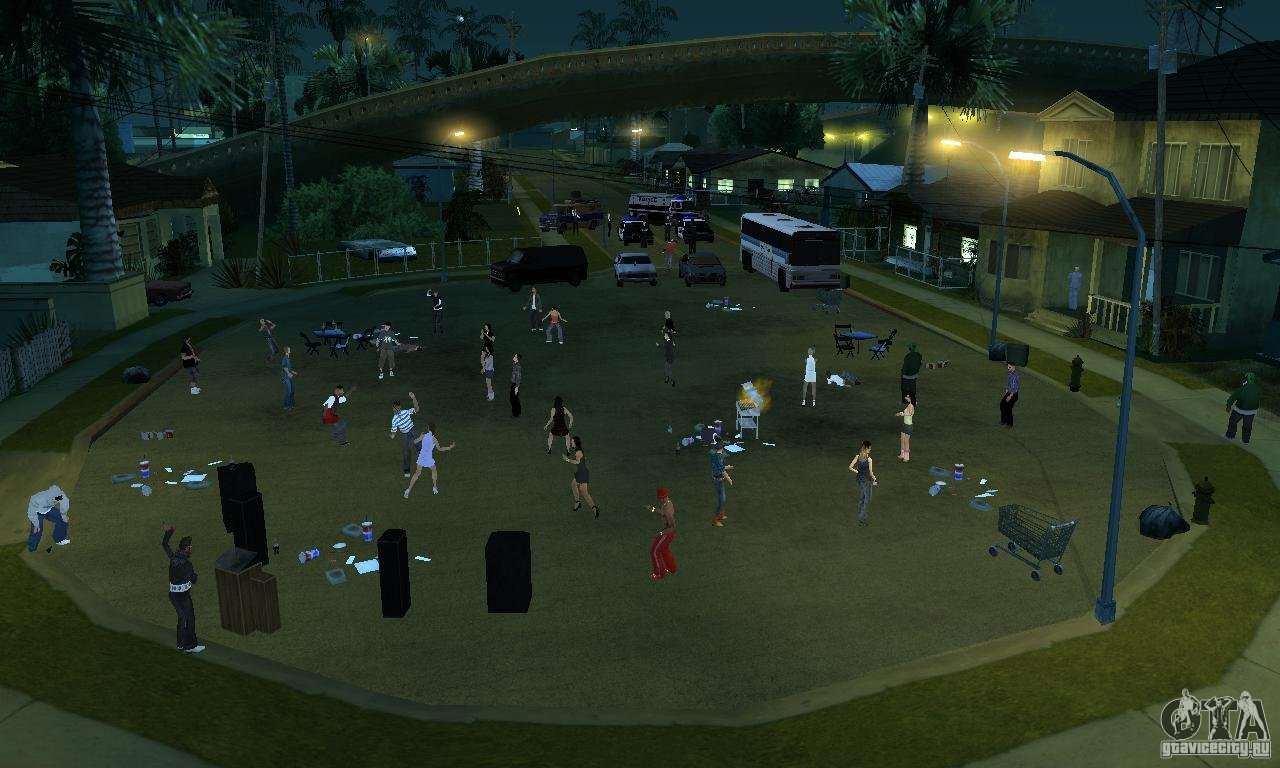 Project X On Grove Street For Gta San Andreas
