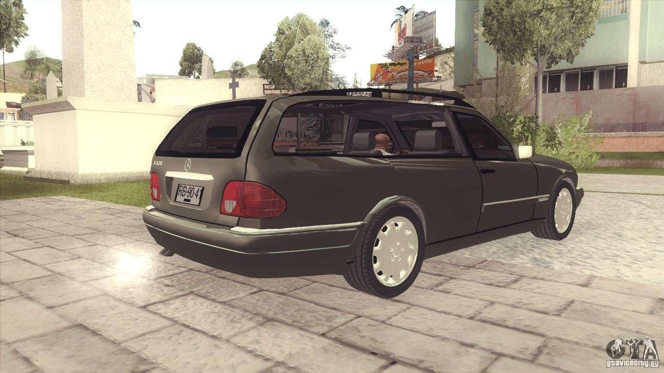 Mercedes benz e320 funeral hearse for gta san andreas for Mercedes benz hearse