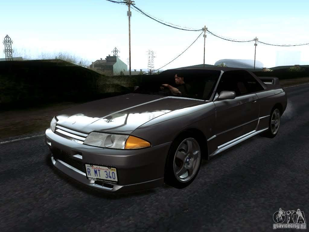 nissan skyline gt r r32 1993 tunable for gta san andreas. Black Bedroom Furniture Sets. Home Design Ideas