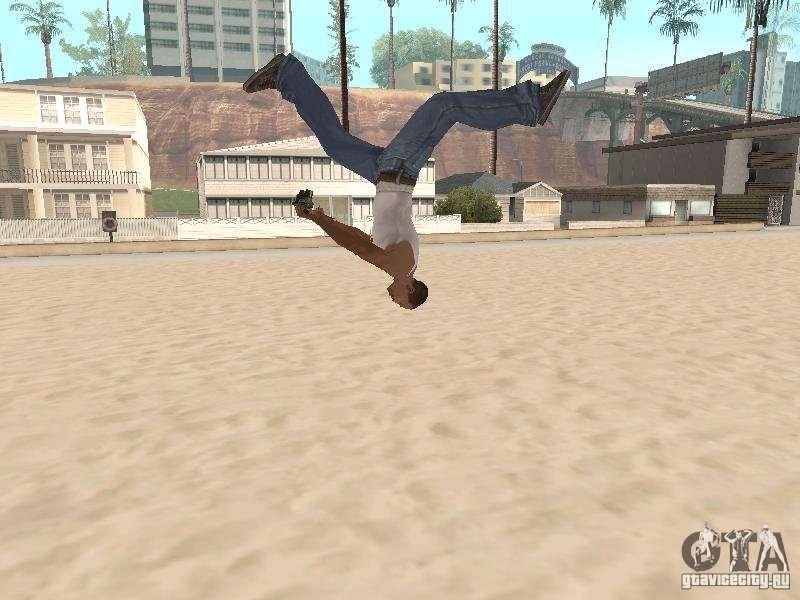 Скачать Parkour Mod для GTA San Andreas