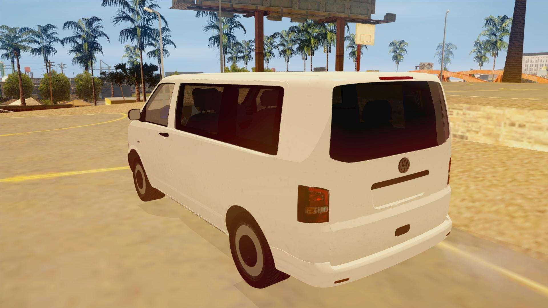 volkswagen transporter t5 facelift 2011 for gta san andreas. Black Bedroom Furniture Sets. Home Design Ideas