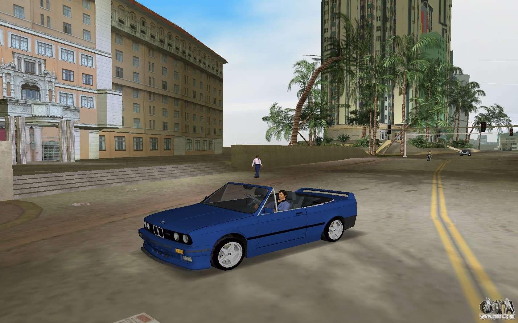 BMW M3 E30 Cabrio for GTA Vice City