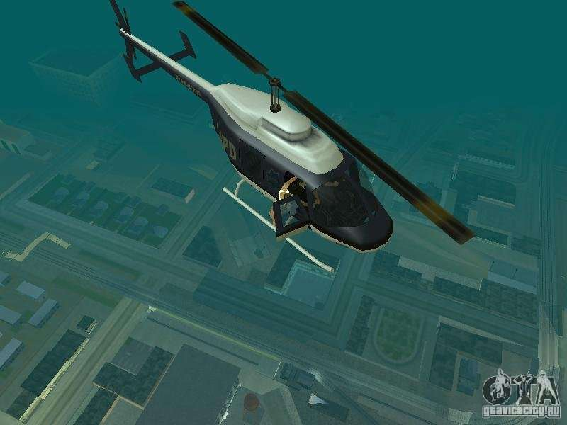 Helicopter Grab v1 0 for GTA San Andreas