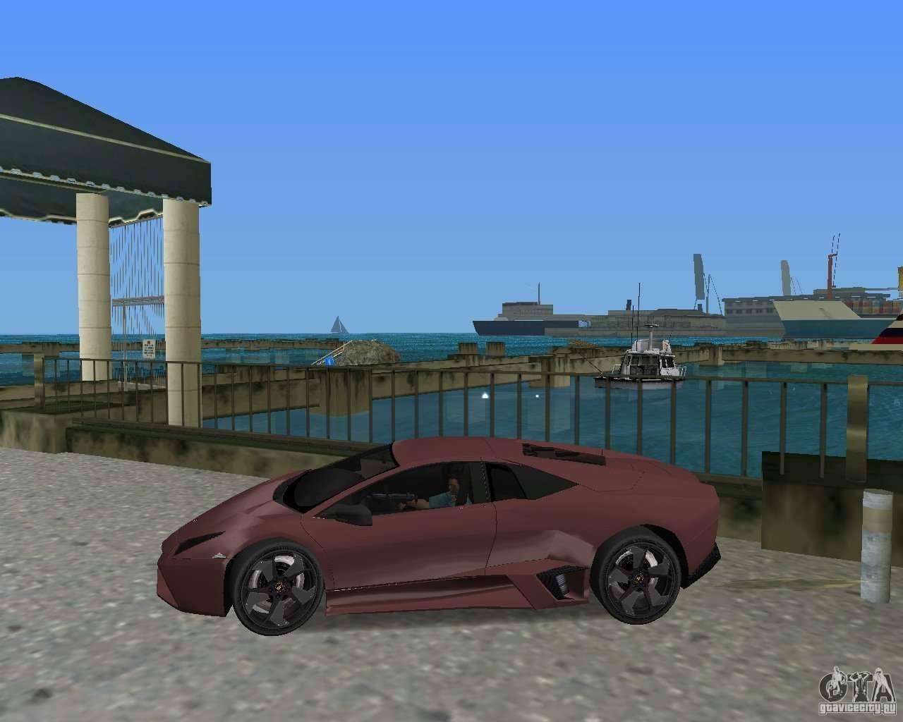 Lamborghini Reventon For GTA Vice City Right View Design Inspirations