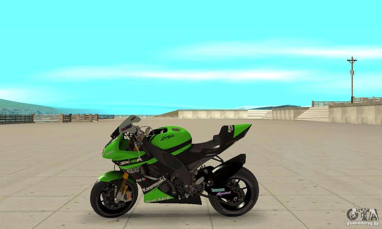 Kawasaki Ninja ZX 10R para GTA San Andreas