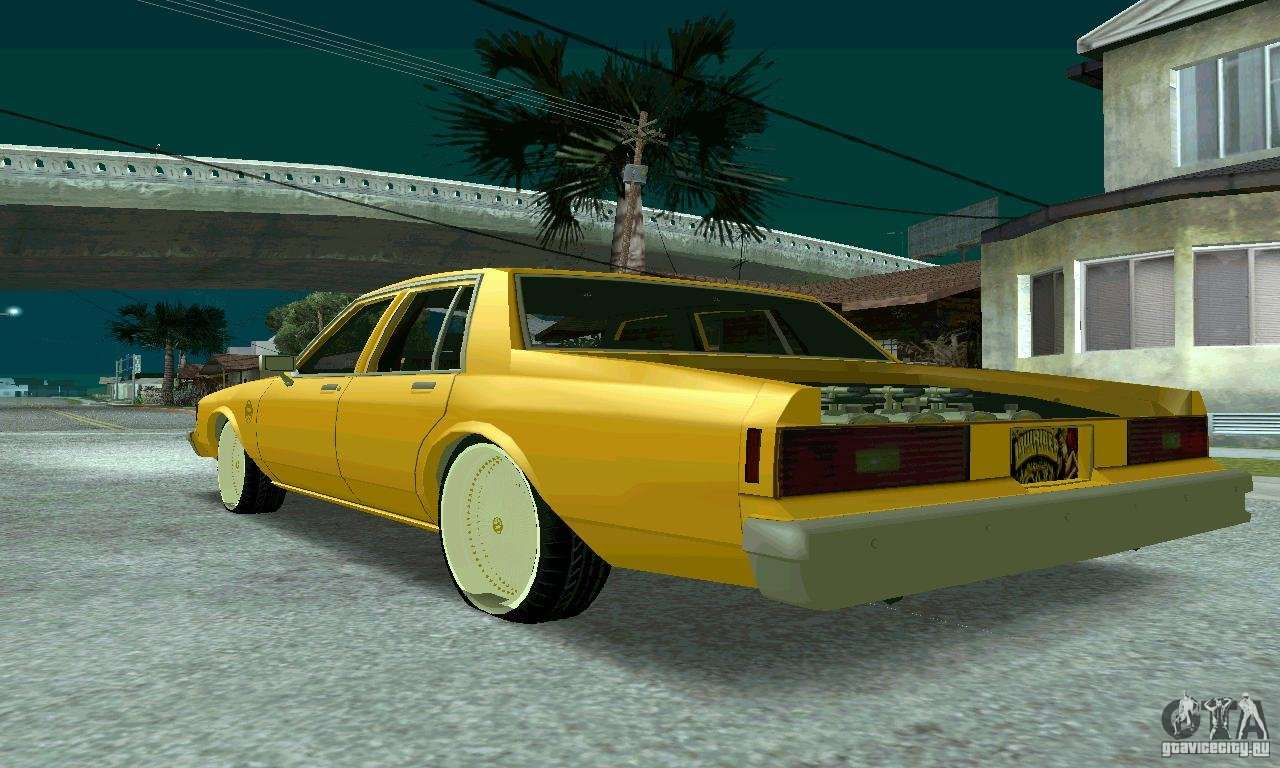 Chevrolet Impala 1977 Lowrider For Gta San Andreas