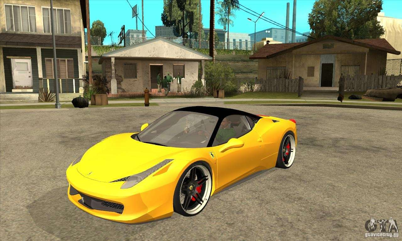 ferrari 458 italia custom for gta san andreas. Black Bedroom Furniture Sets. Home Design Ideas