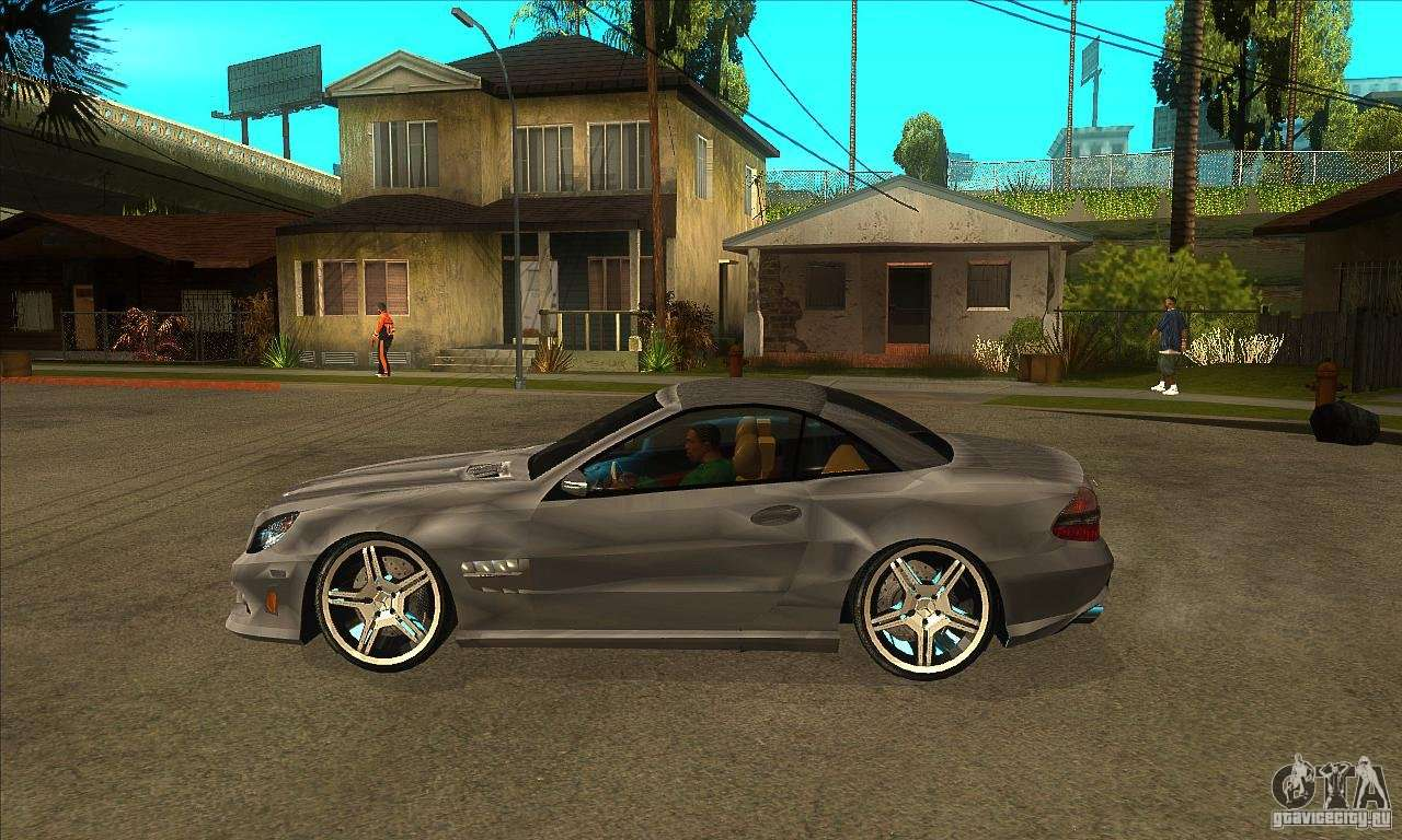 Mercedes benz sl65 amg 2010 for gta san andreas for Mercedes benz sl65 amg