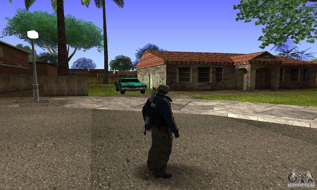 Grove Street v1.0 для GTA San Andreas второй скриншот.