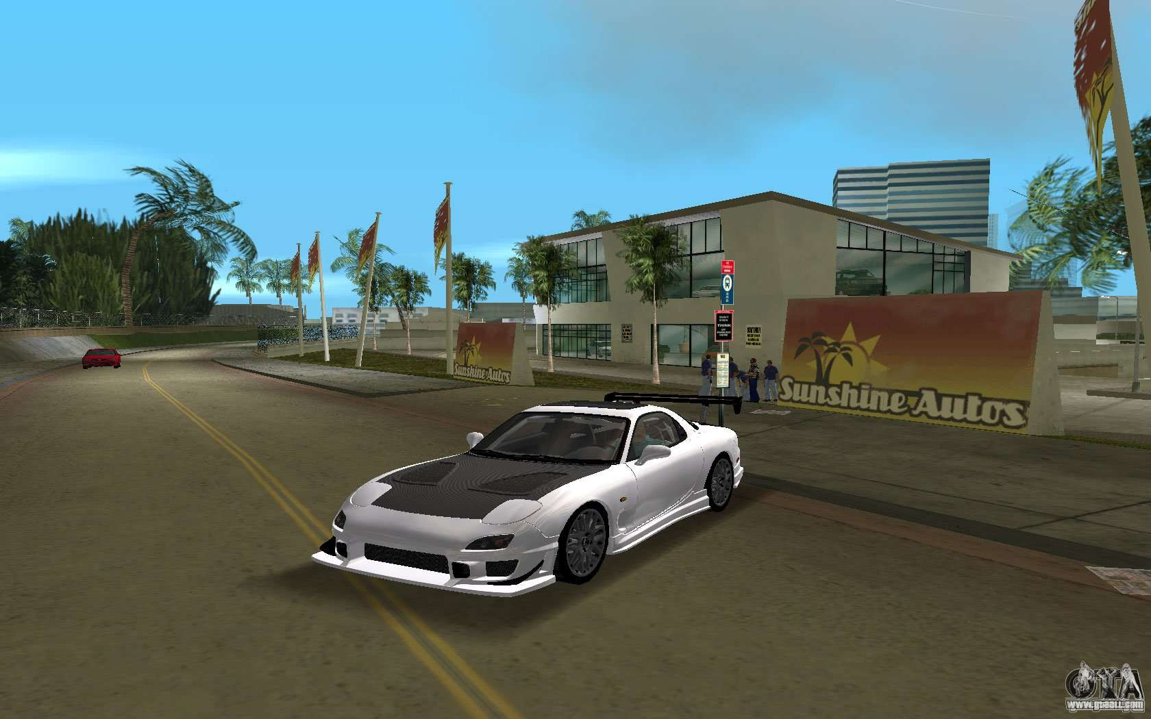 Mazda Rx 7 Fd3s For Gta Vice City