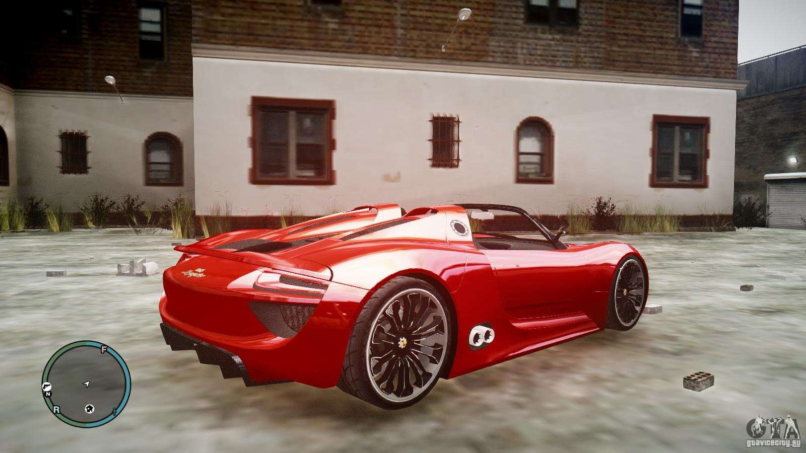 porsche 918 spyder concept for gta 4. Black Bedroom Furniture Sets. Home Design Ideas