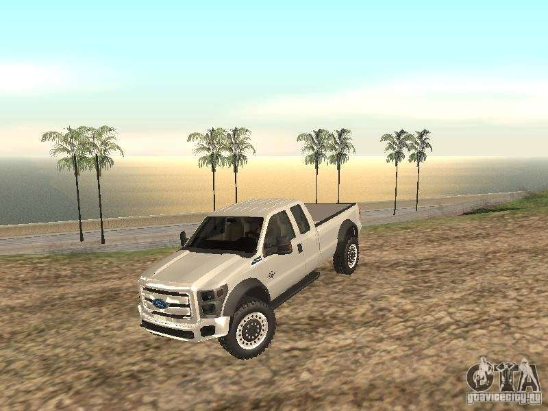 ford super duty f 550 for gta san andreas