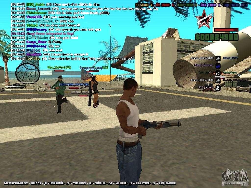 SA:MP 0 3d for GTA San Andreas