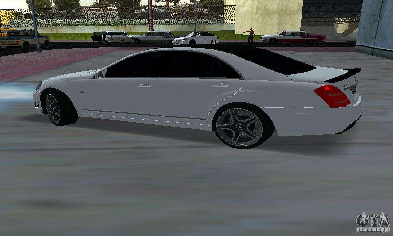Mercedes benz s65 amg edition for gta san andreas for Mercedes benz amg s65