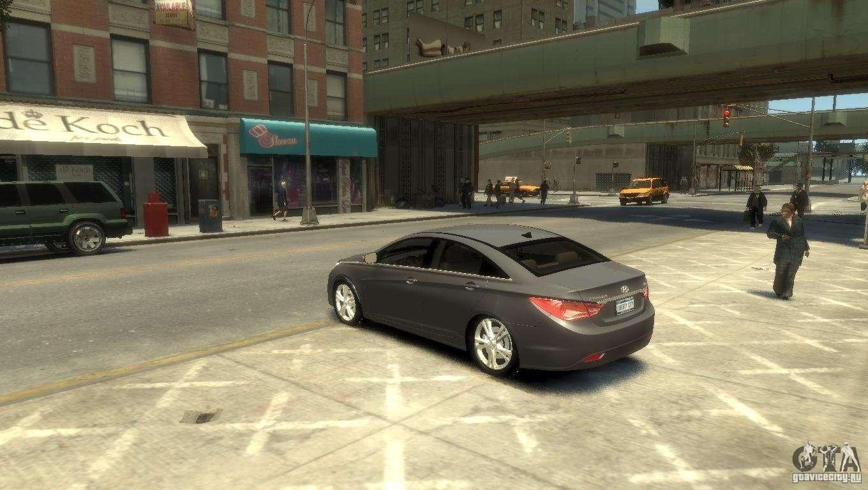 Hyundai Sonata Police Car >> Hyundai Sonata for GTA 4