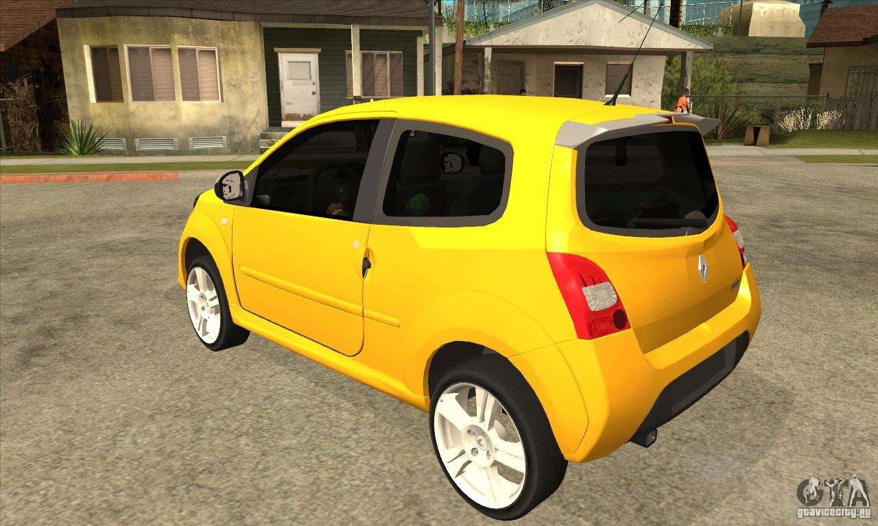 renault twingo rs 2009 for gta san andreas. Black Bedroom Furniture Sets. Home Design Ideas