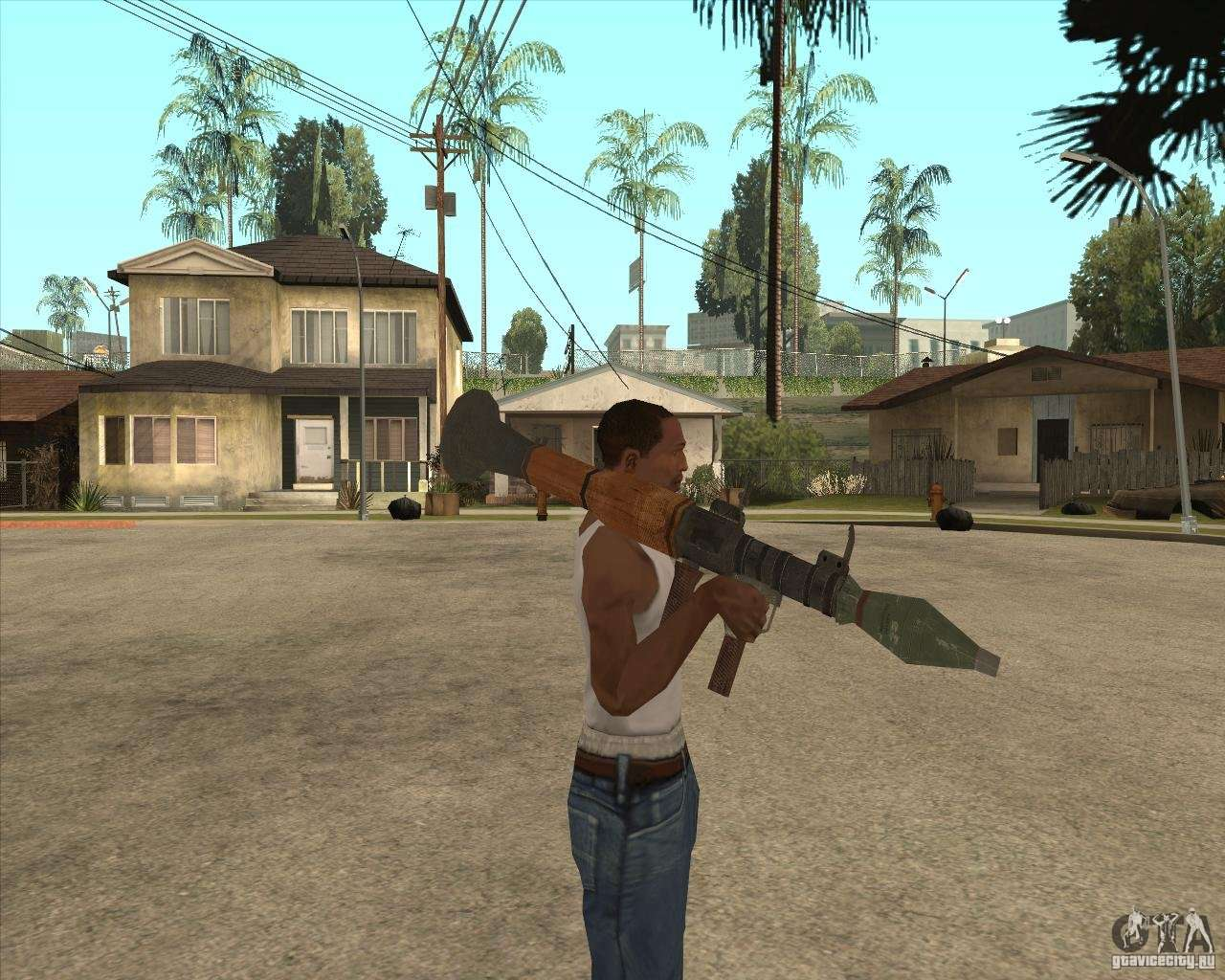 The rpg 7 for gta san andreas for Bureau 13 rpg
