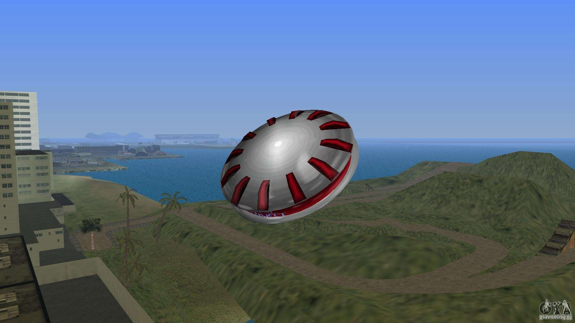 ultimate flying object for gta vice city