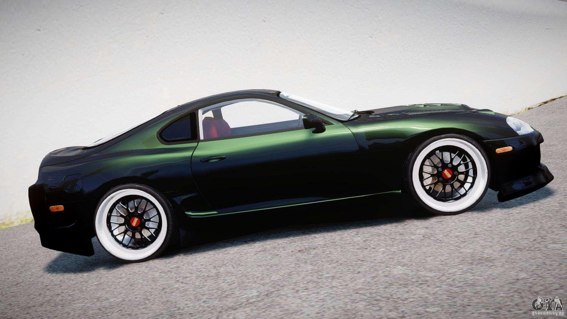Toyota Supra Jza80 For Gta 4