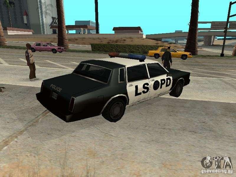 Tahoma Police for GTA San Andreas