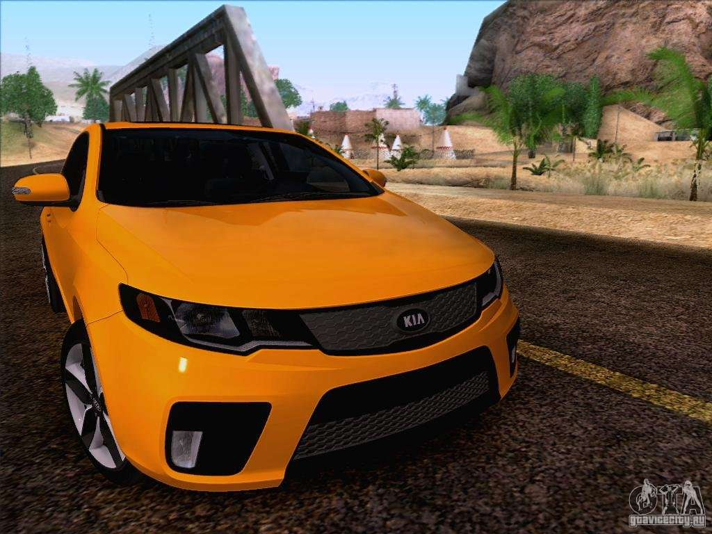 Kia forte koup sx for gta san andreas