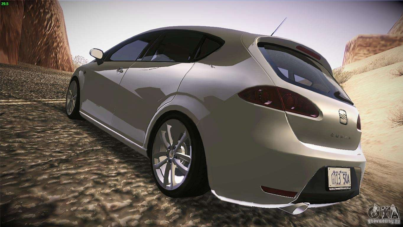 seat leon cupra for gta san andreas. Black Bedroom Furniture Sets. Home Design Ideas