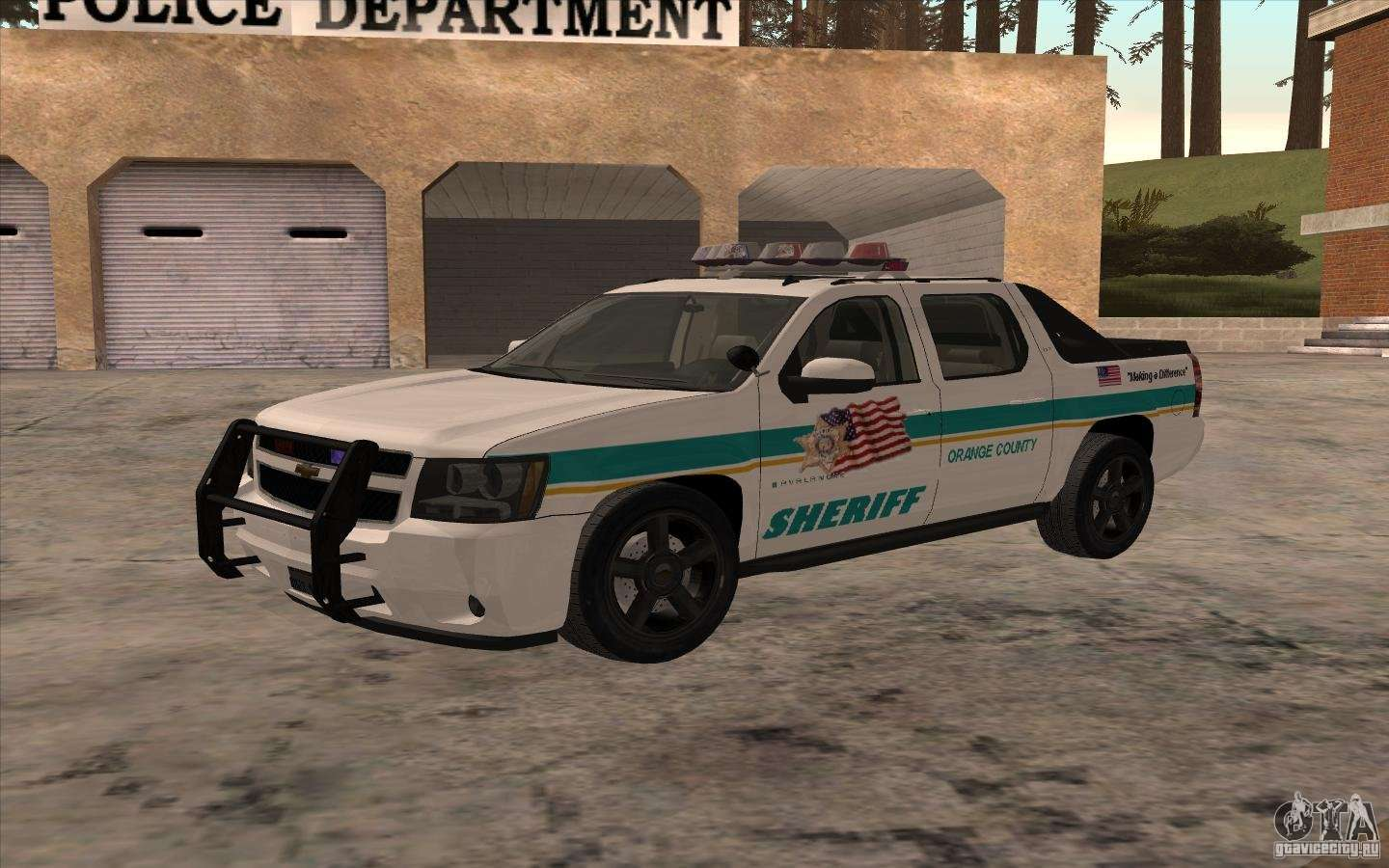 8 Passenger Vehicles >> Chevrolet Avalanche Orange County Sheriff for GTA San Andreas
