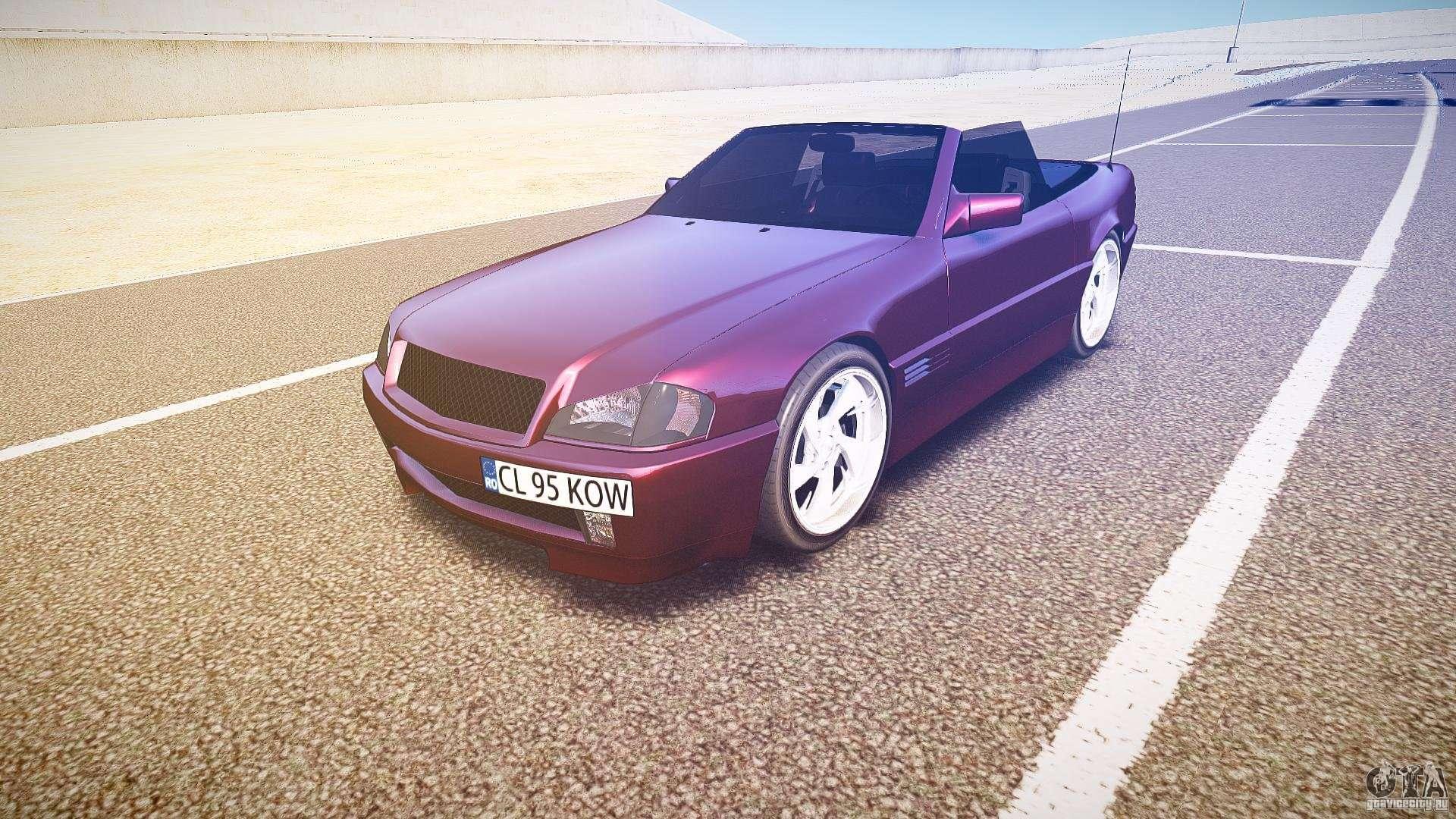 Mercedes benz sl500 custom for gta 4 for Mercedes benz custom