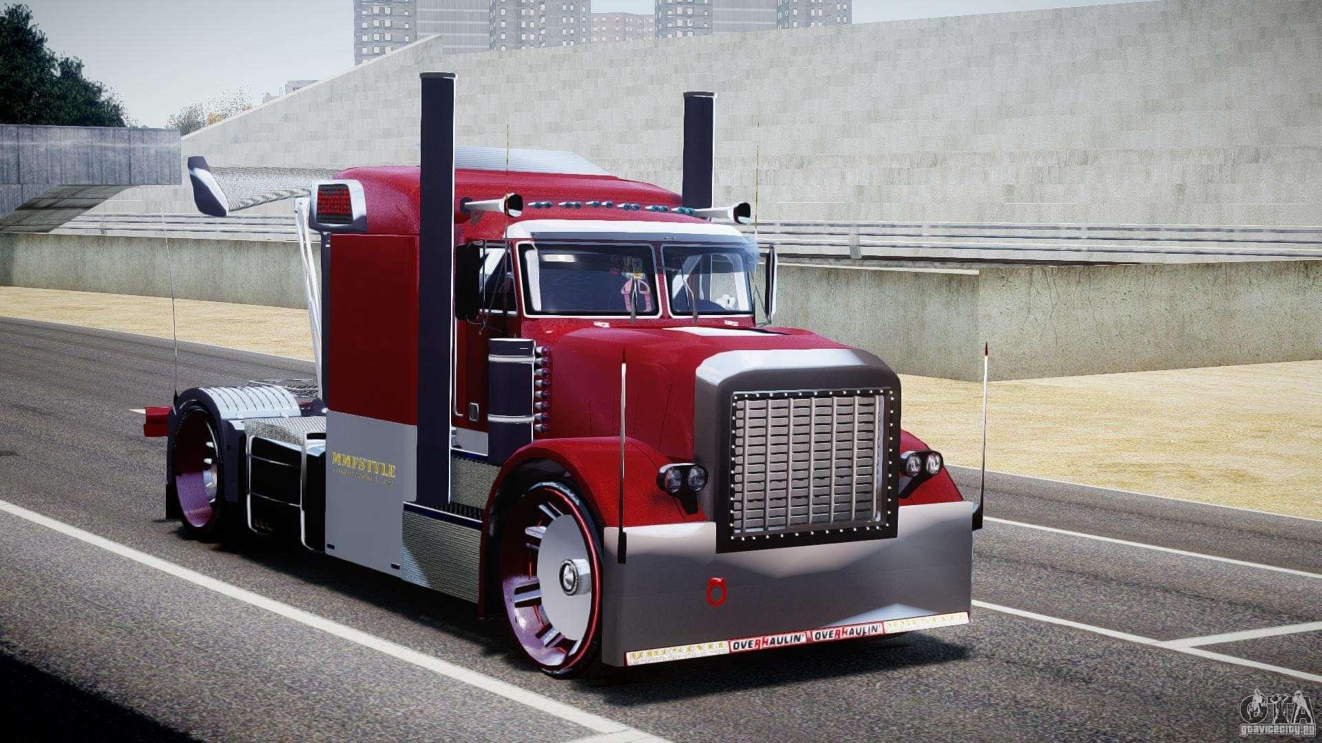 peterbilt sport truck custom for gta 4. Black Bedroom Furniture Sets. Home Design Ideas