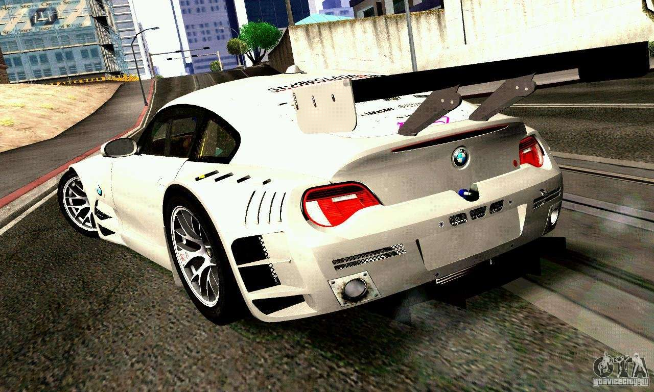 Bmw Z4 E85 M Gt 2008 V1 0 For Gta San Andreas