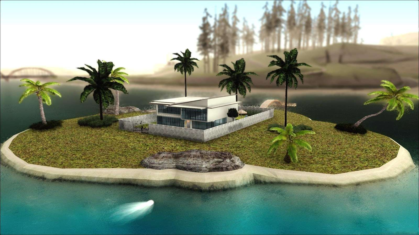 Gta Sa Modern Beach House