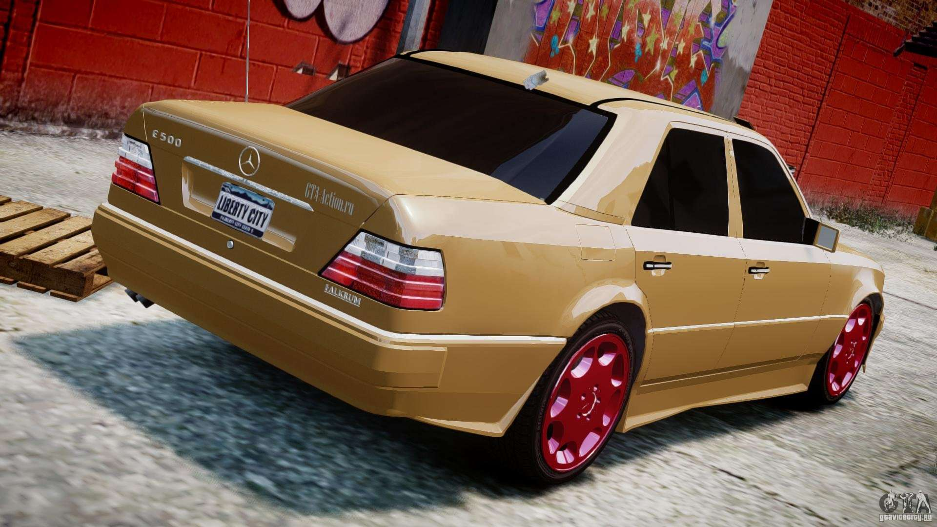 Mercedes benz w124 e500 1995 for gta 4 for Mercedes benz w124 tuning