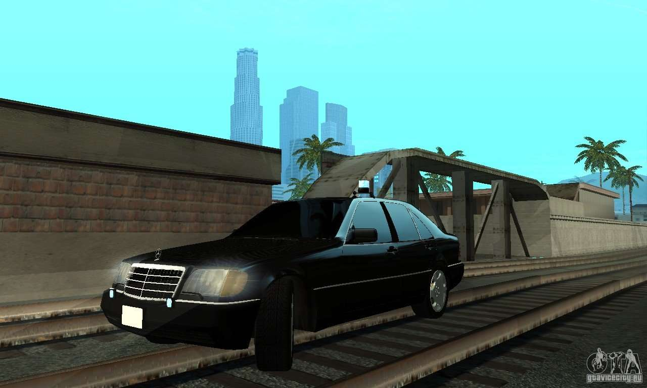 Mercedes benz 400 se w140 deputat style for gta san andreas for Mercedes benz 400 se