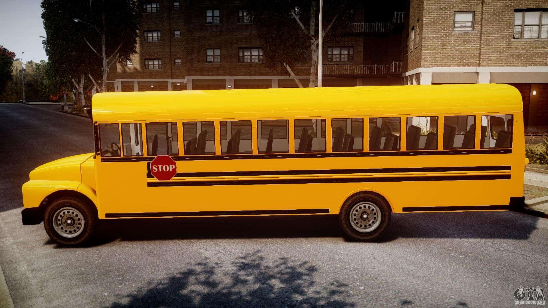 School Bus Beta For Gta 4