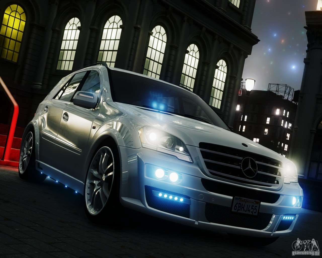 Mercedes Benz Minivan >> Mercedes-Benz ML Brabus 2009 for GTA 4