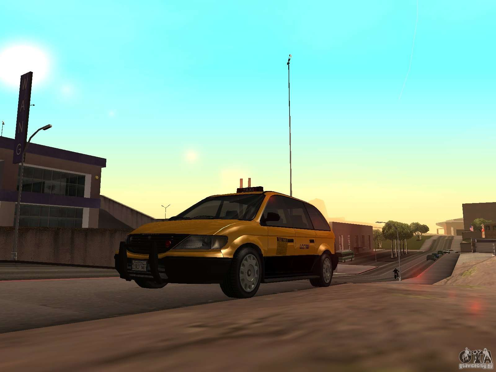 Cabbie from GTA 4 for GTA San Andreas