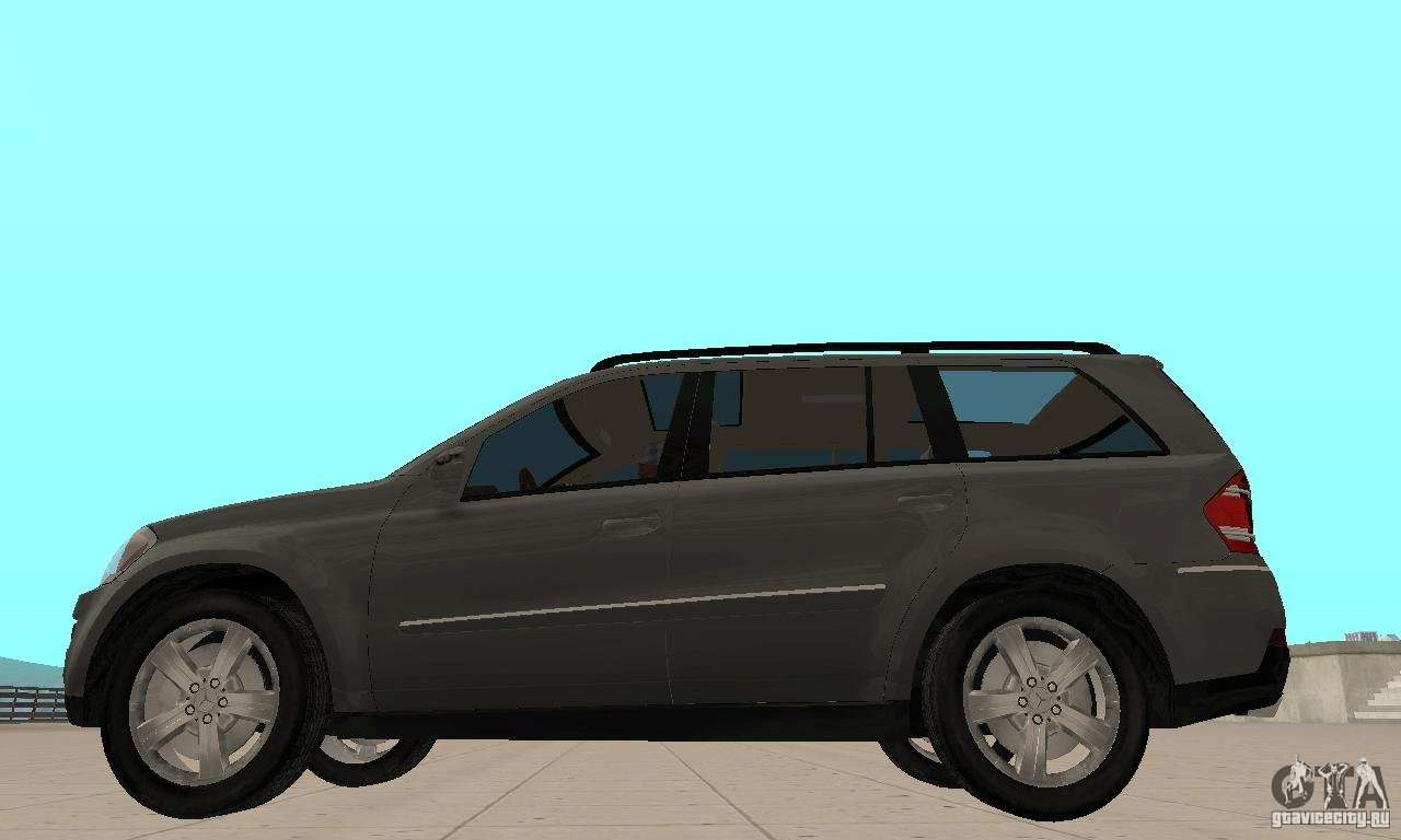 Mercedes benz gl500 for gta san andreas for Mercedes benz gl500