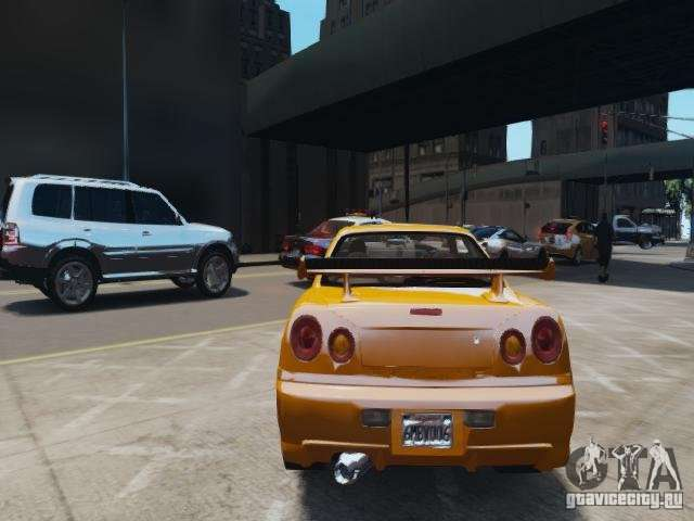 Nissan Skyline Gt R R34 Fast And Furious 4 For Gta 4