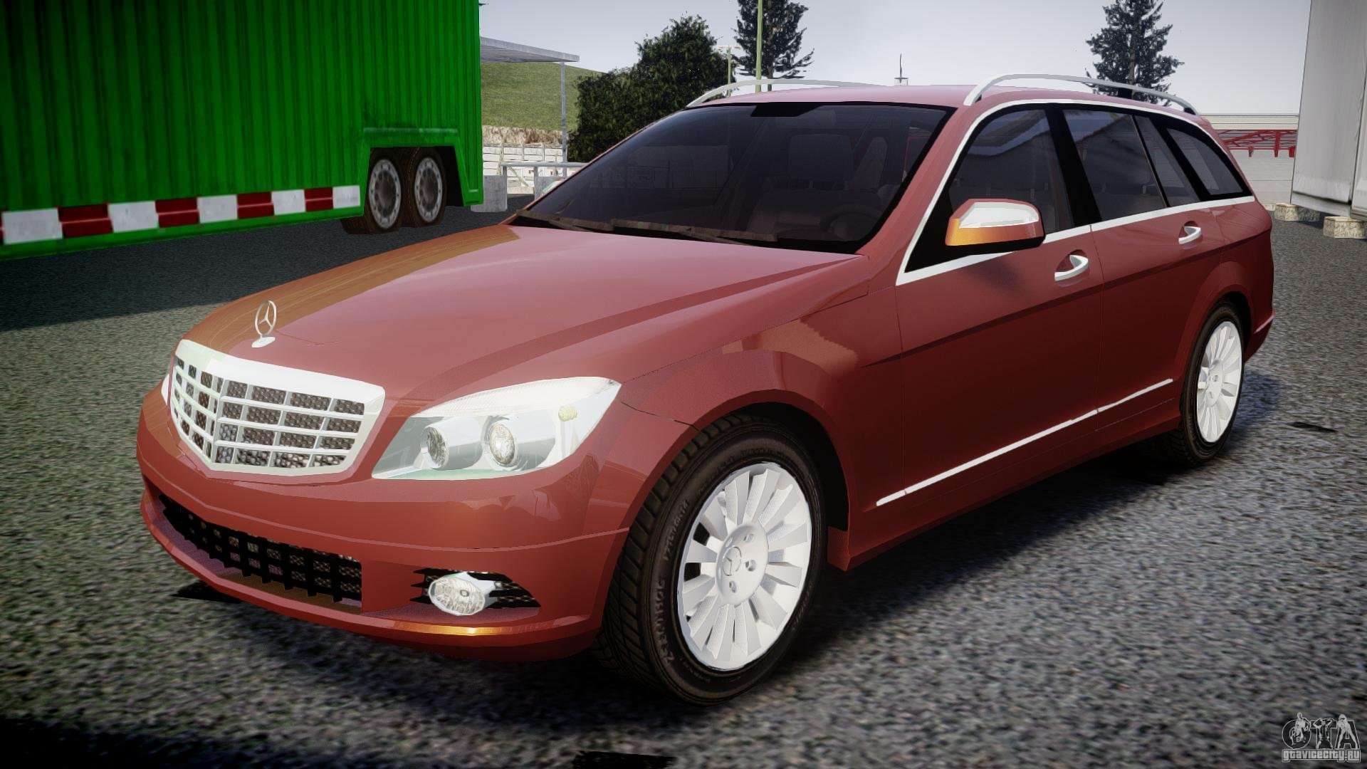 mercedes benz c 280 t modell estate for gta 4. Black Bedroom Furniture Sets. Home Design Ideas