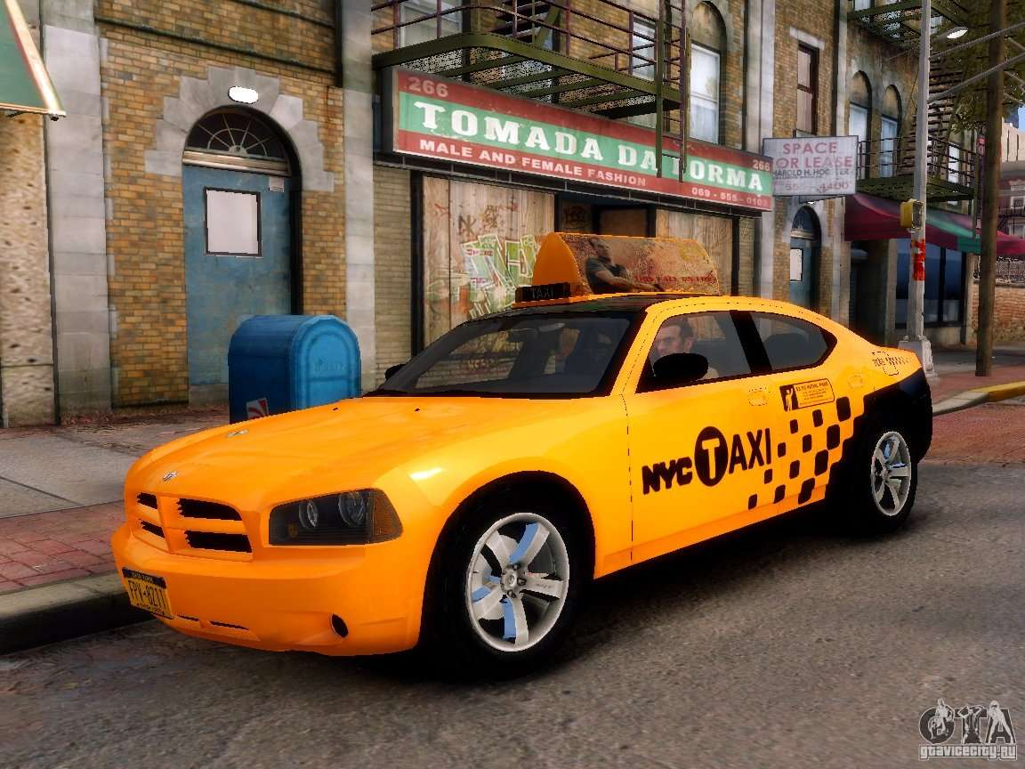 Dodge Charger Nyc Taxi V 1 8 For Gta 4