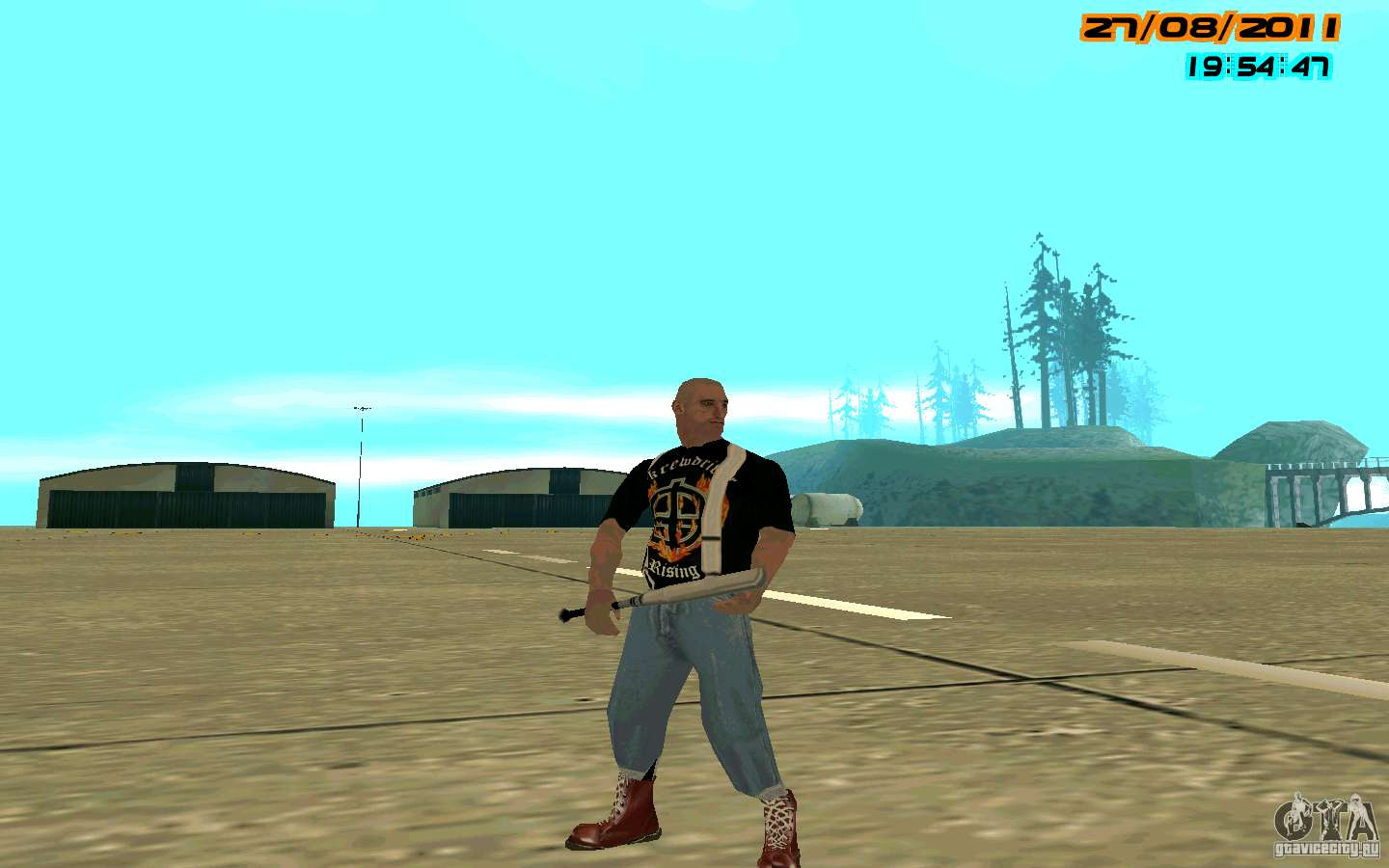 SkinHeads Pack for GTA San Andreas