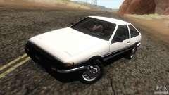 Toyota Sprinter Trueno AE86 GT-Apex for GTA San Andreas