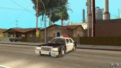 Ford LTD Crown Victoria Interceptor LAPD 1985 for GTA San Andreas