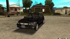 Lexus IS300 black for GTA San Andreas