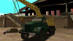 GAZ 51 mobile crane for GTA San Andreas
